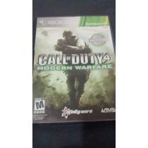 Jogo Call Of Duty 4 Modern Warfare 1 - Cod Mw1 Xbox 360 Orig