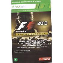 Fórmula 1 2013 Atualização Clássica Mídia Digital