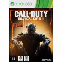 Call Of Duty Black Ops 3 Xbox 360 Original/lacrado