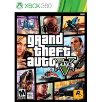 Gta 5 - Grand Theft Auto 5 - Xbox 360 - Mídia Fisica
