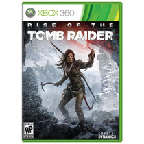 Rise Of The Tomb Raider Xbox 360 Português Mídia Física