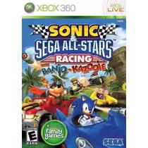 Jogo Sonic Sega All-stars Racing With Banjo-kazooie Xbox 360
