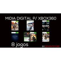 8 Jogos -midia Digital Xbox360