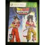 Dragon Ball Z Budokai Hd Collection Xbox 360