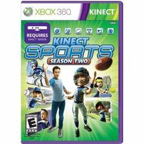 Kinect Sports Season Two 2 - Xbox 360 - Novo Lacrado
