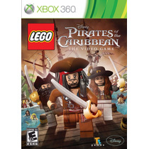 Jogo Xbox 360 Lego Pirates Of The Caribbean The Video Game