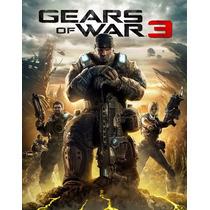 Gears Of War 3 Jogo Digital Codigo 25 Digitos Xbox 360/one