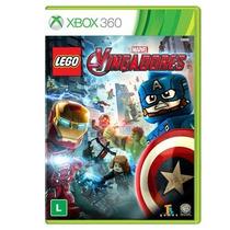 Jogo Lego Marvel Vingadores - Xbox 360 Midia Fisica Lacrado