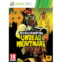 Red Dead Redemption Undead Nightmare Original Xbox 360