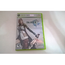 Final Fantasy Xiii Semi-novo Jogo Original Xbox 360