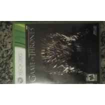 Jogo Original Game Of Thrones Para Xbox 360