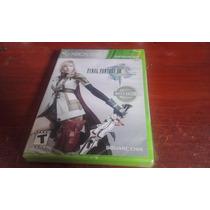 Final Fantasy Xiii X360 Original Lacrado