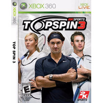 Patchs X360 Lt 3.0 - Top Spin 3 - Frete Gratis
