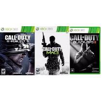 Jogos Call Of Duty Ghost+ Mw3 + Bo2