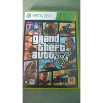 Game Gta 5 Original Completo Xbox 360 - Seminovo