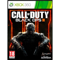Call Of Duty Black Ops 3 - Xbox 360 - Somente Online