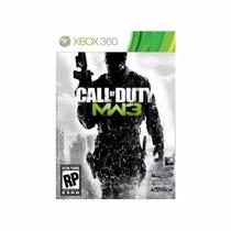 Manual Instruções Call Of Duty Modern Warfare 3 Xbox 360