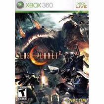 Manual Instruções Do Jogo Lost Planet 2 Xbox 360 Original