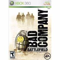 Manual Instruções Do Jogo Battlefield: Bad Company Xbox 360