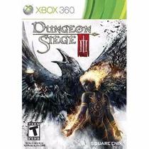 Manual Instruções Jogo Dungeon Siege Iii Xbox 360 Original