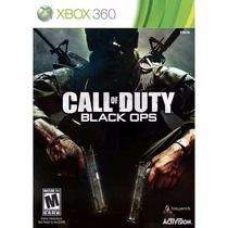 Manual Instruções Call Of Duty Black Ops Xbox 360 Original