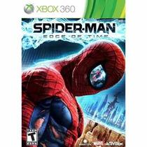 Manual Instruções Spider-man: Edge Of Time Xbox 360
