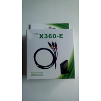 Cabo Av Audio E Video Xbox 360 Super Slim - Novo