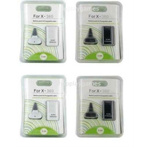 Kit Carregador E Bateria 4800mah Para X Box 360 X Box Slim