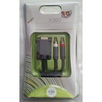 Cabo Para Ligar Monitor Pc No Xbox 360 Vga Hd Av Cable