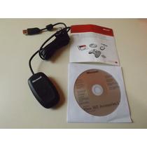 Receiver Para Controle Wireless Xbox360 No Pc 100% Original