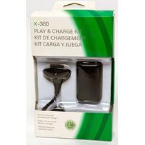 Kit 2 Baterias Carregador Controle Xbox360 Slim Frete Grátis