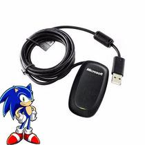 Receiver Controle Wireless Xbox 360 Cabo P/ Pc Original