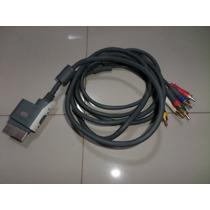 Cabo Componente Tv Audio Video Xbox 360 Av Hd Microsoft