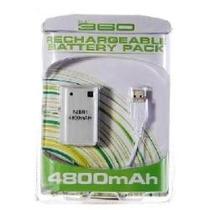 Bateria Controle Xbox Recarregavel + Cabo Usb 4800mah