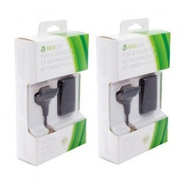 Kit 02 Bateria Carregador Do Controle Xbox 24.000mah Charge