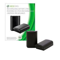 2 Baterias Recarregáveis Para Controle Xbox 360 - Microsoft