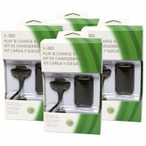 Bateria Recarregavel Controle Xbox 360 Fat Slim + Cabo Usb