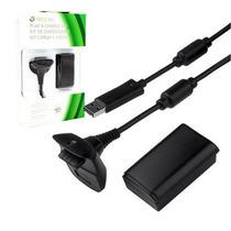 Kit 1 Baterias + Carregador Controle Xbox 360 9600mah