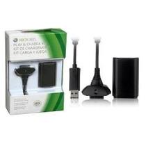 Kit Play E Charge (baterias) 28000 Mah Para Controle Xbox360