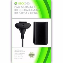 Kit Carregador Xbox 360 Original Microsoft