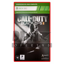 Call Of Duty Black Ops 2 Xbox 360 Mídia Digital 25 Digitos