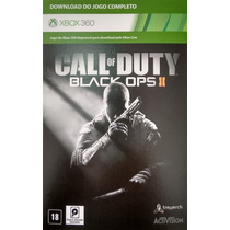 Call Of Duty Black Ops 2 Xbox 360 Digital Envio Imediato