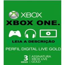 Xbox Live Gold Brasil Br - 3 Meses - Envio Imediato