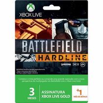 Cartão Xbox Live 3 Meses + 1 Mes De Bonus - Edição Limitada