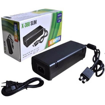 Fonte Bivolt Video Game Xbox 360 Slim 2 Pinos Ou One 1 Pino