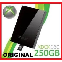 Hd 250 Gb Xbox 360 Original Slim - Microsoft - Novo !!