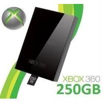 Hd 250gb P/ Xbox 360 Slim Novo Pronta Entrega Envio Imediato