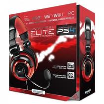 Headset Dreamgear Elite Universal Ps4 Ps3 Xbox 360 Wii Wii U