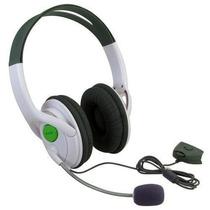 Fone Headset Para Xbox 360 Com Microfone Controle De Volume