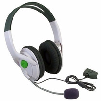 Fone Headset C/ Microfone E Controle De Volume P/ Xbox 360..